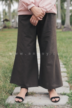 Rhea Flare Pants Brown